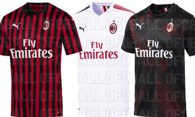 AC Milan 2020 nouveaux maillots de football par Puma
