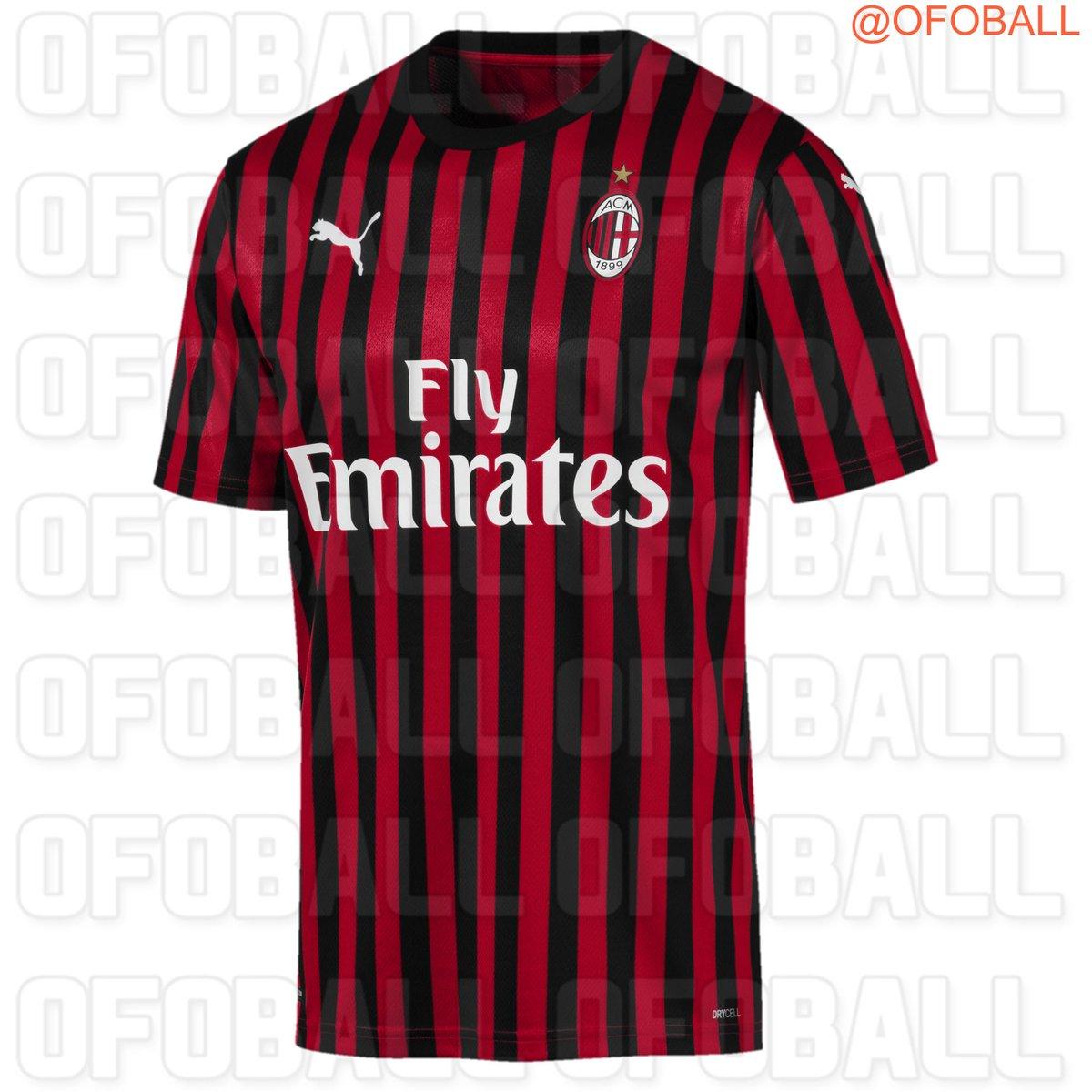 AC Milan 2020 maillot domicile Puma 19 20