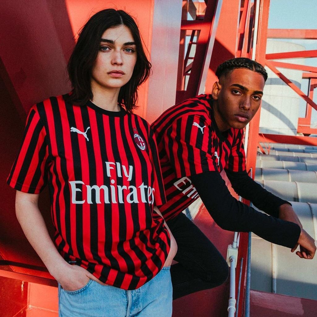 AC Milan 2020 maillot domicile officiel 19 20