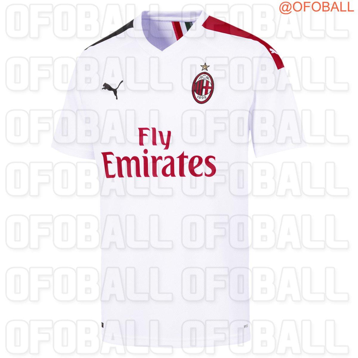 AC Milan 2020 nouveau maillot extérieur 2019 2020