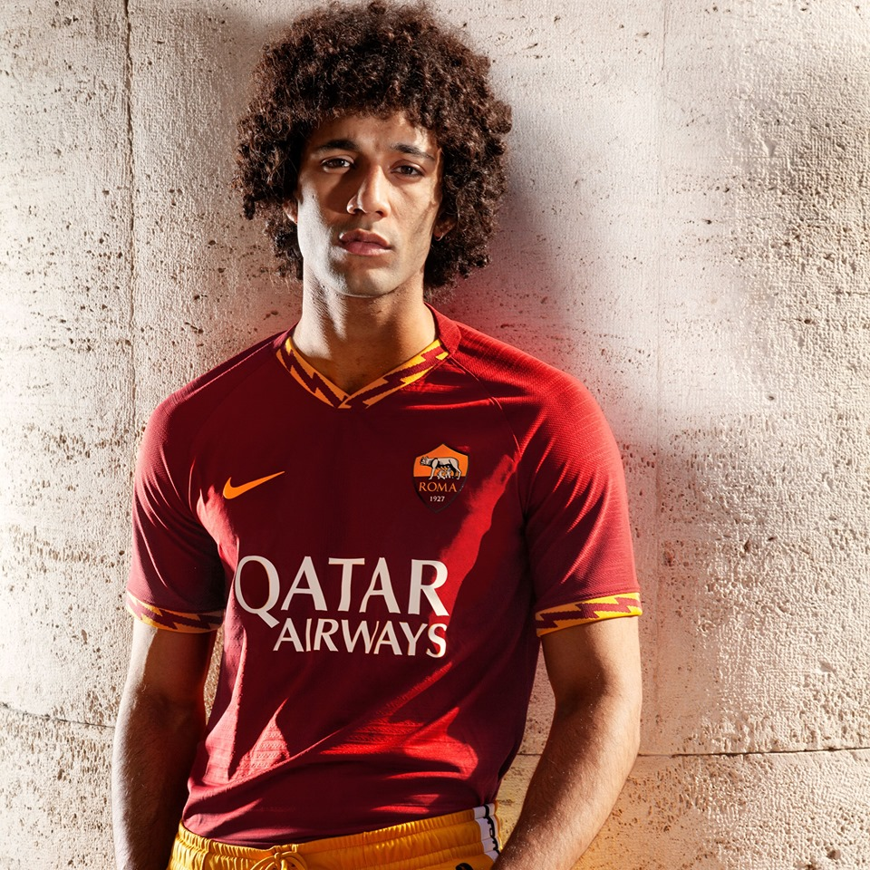 AS Roma 2020 maillot de foot domicile officiel