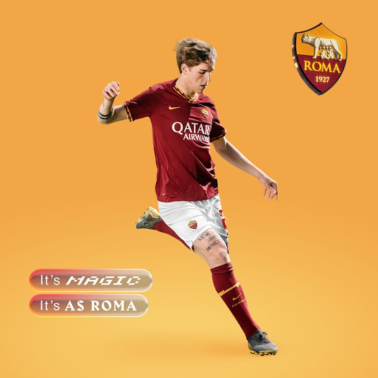 AS Roma 2020 maillot de foot domicile