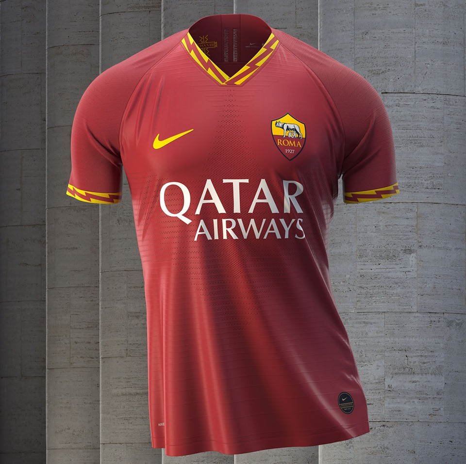 AS Roma 2020 maillot de football domicile