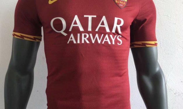 Les nouveaux maillots de foot AS Roma 2020