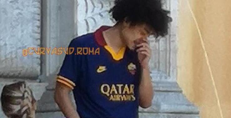 AS Rome 2020 troisieme maillot third fuite Roma