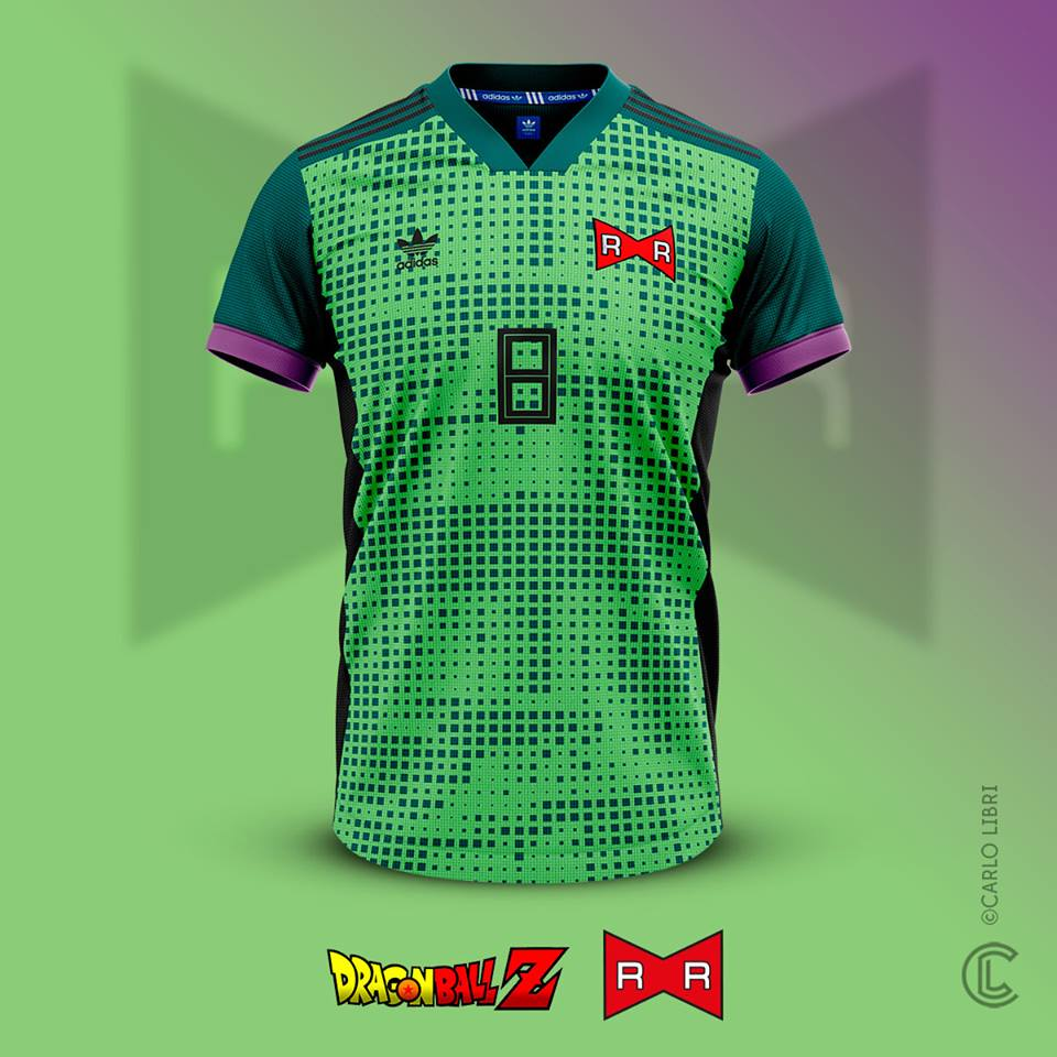Cell maillot de foot DBZ