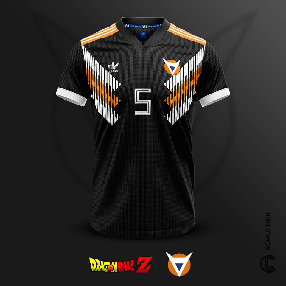 Commando Ginyu maillot de football DBZ