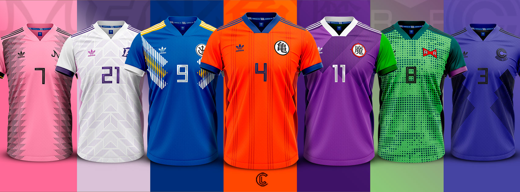 Dragon Ball Z maillots de football
