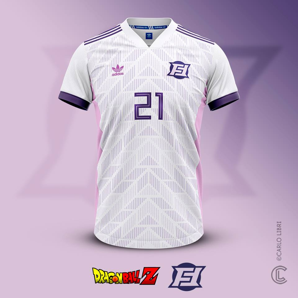 Freezer maillot de foot DBZ