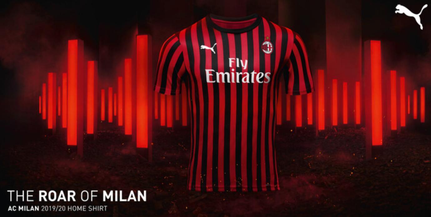 Milan AC 2020 maillot de football domicile Puma
