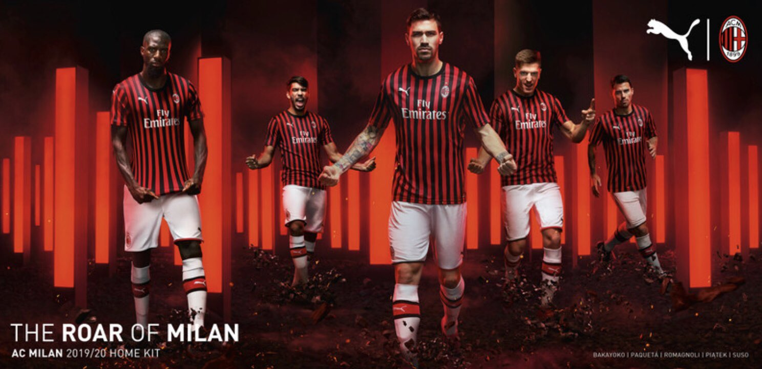 Milan AC 2020 maillot domicile 2020