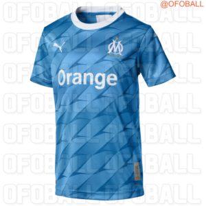 OM 2020 maillot de foot extérieur Marseille 2019 2020