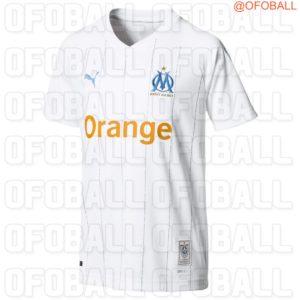 OM 2020 maillot domicile Marseille Puma