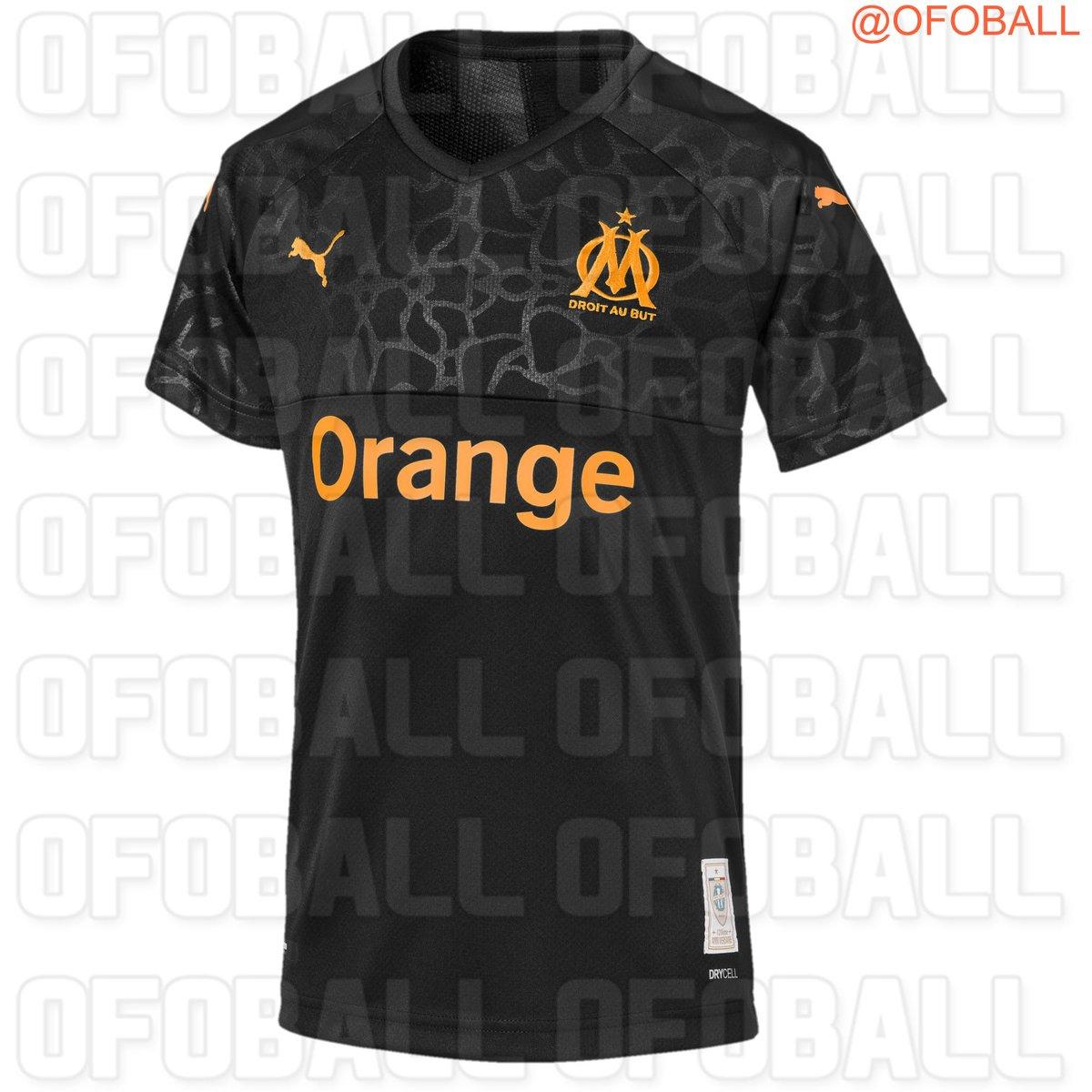 OM 2020 maillot third Olympique de Marseille 2019 2020