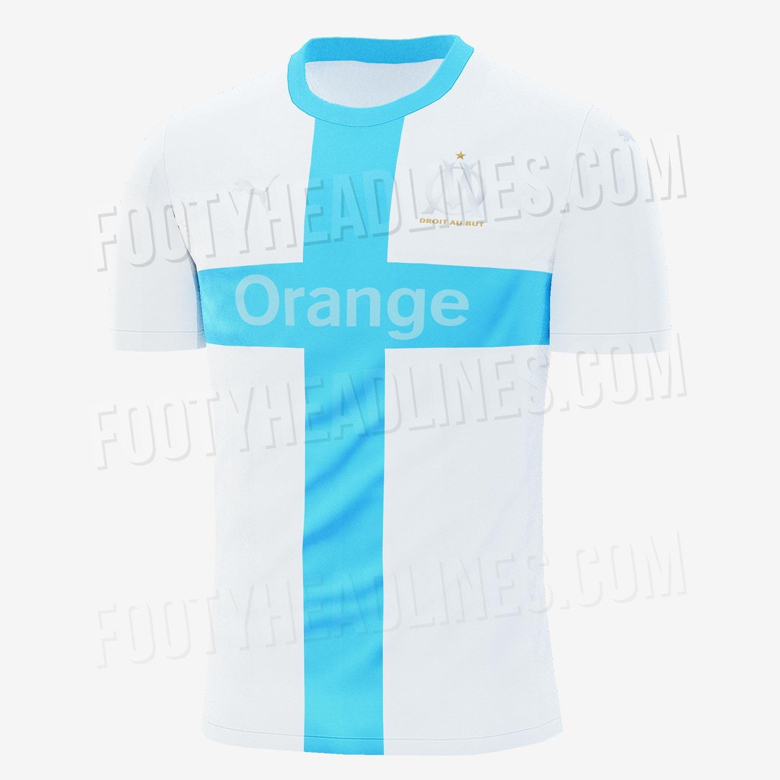 OM 2020 quatrième maillot coupe Marseille
