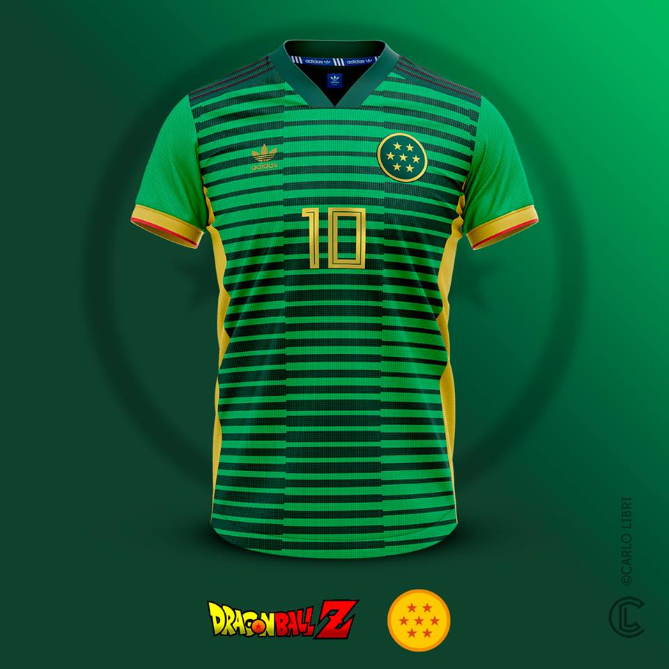 Shenron maillot de foot Dragon Ball Z