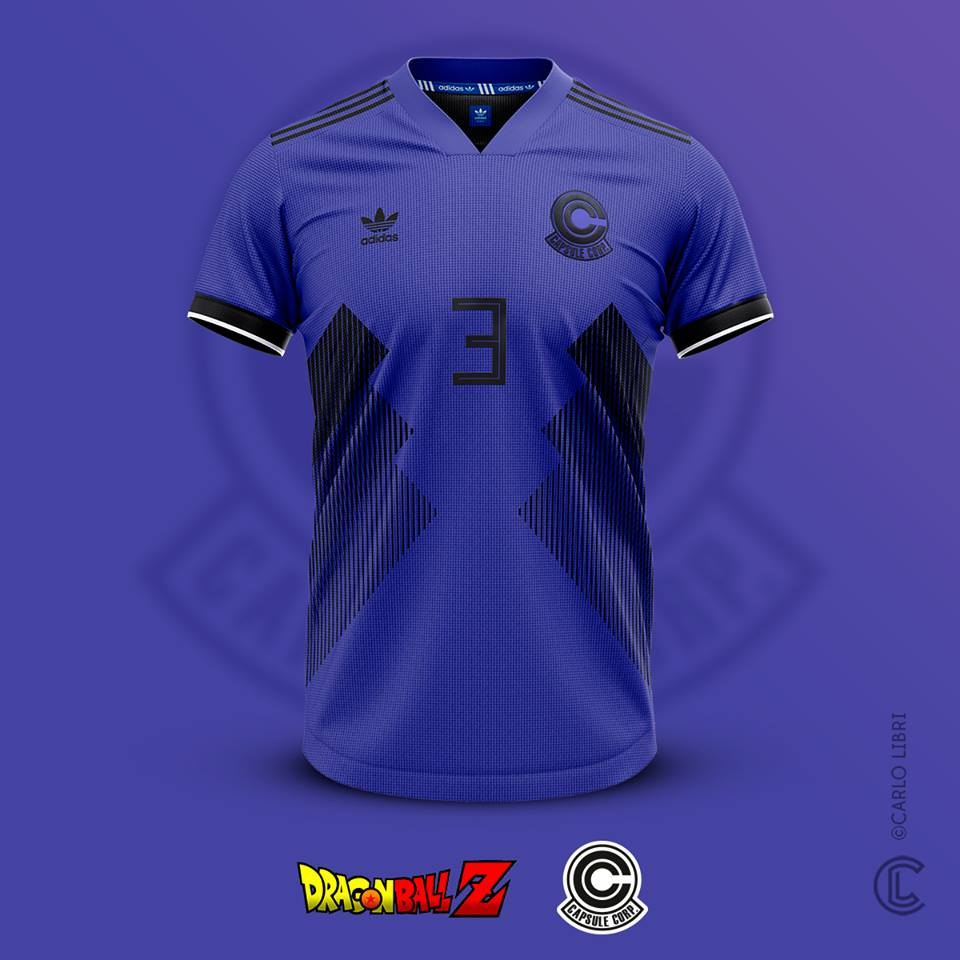 Trunks maillot de foot DBZ