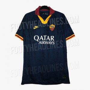 nike as roma 19 20 third kit