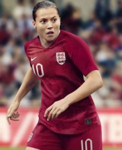 Angleterre 2019 maillot extérieur football coupe du monde 2019 féminine
