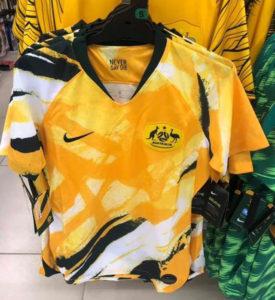 Australie 2019 maillot domicile foot coupe du monde 2019 femme