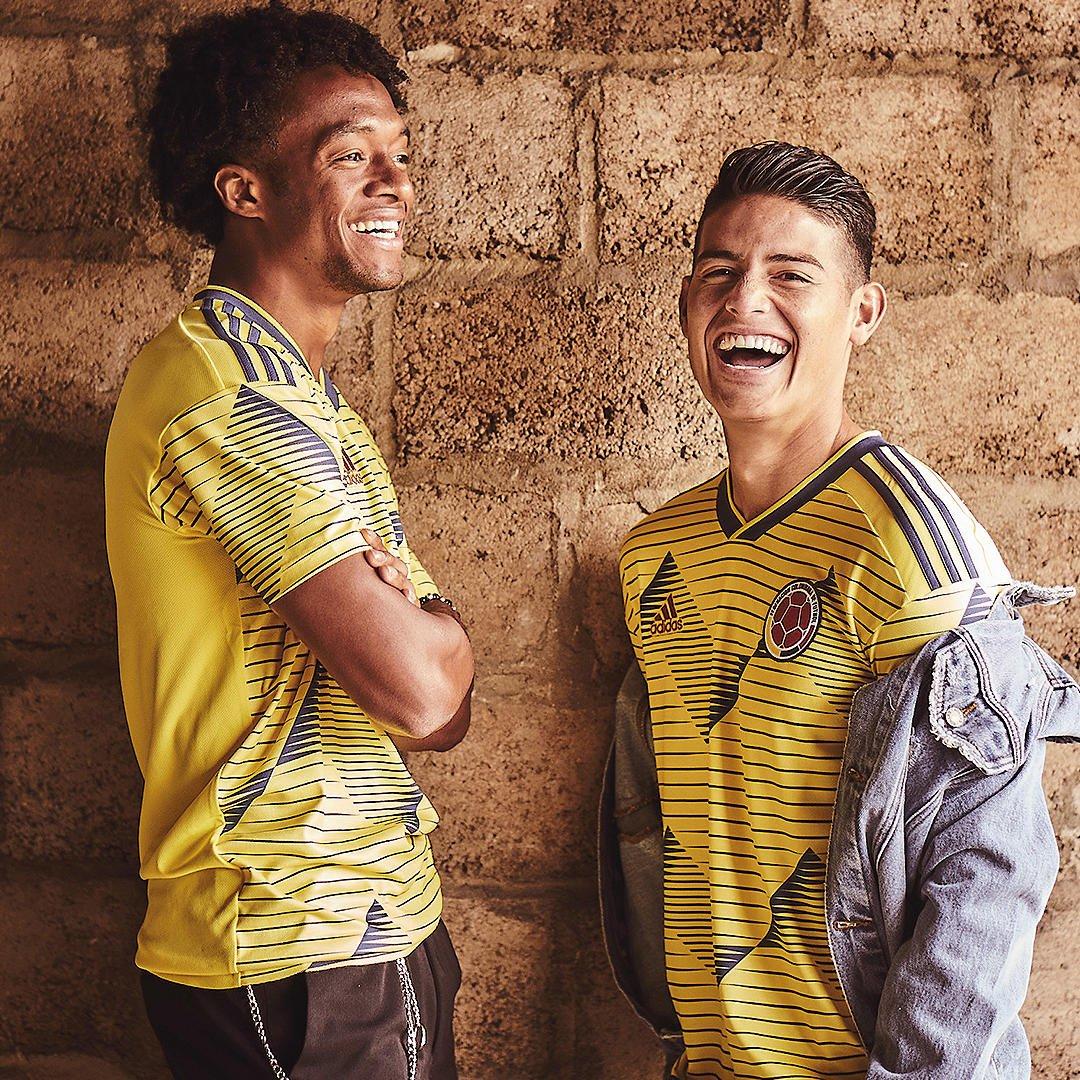 Colombie 2019 maillot domicile Copa America 2019