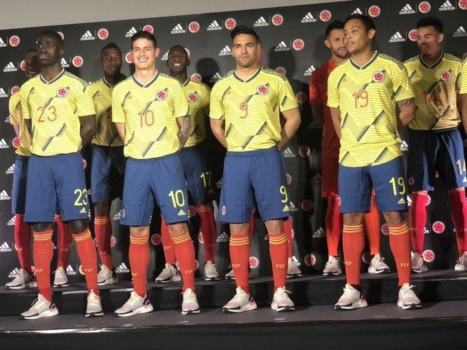 Colombie 2019 maillot foot domicile Copa America 2019