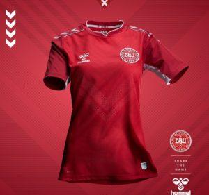 Danemark 2019 maillot domicile foot coupe du monde 2019 féminine