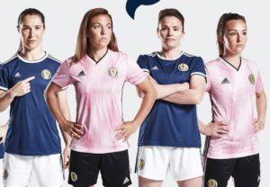 Ecosse 2019 maillots football coupe du monde 2019 femme