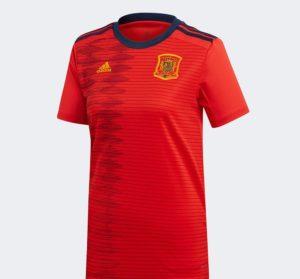 Espagne 2019 maillot domicile foot coupe du monde 2019 femme