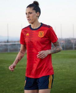 Espagne 2019 maillot domicile football coupe du monde 2019 femme