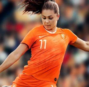 Hollande maillot domicile Pays Bas coupe du monde 2019 féminines