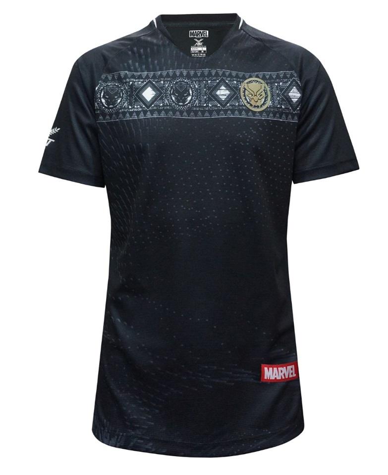 Marvel maillot de foot Black Panther