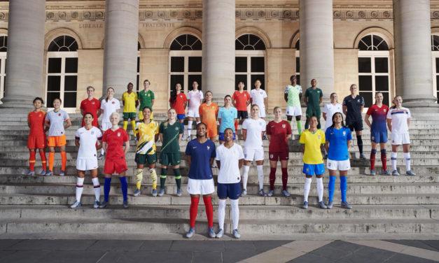 Tous les maillots de football coupe du monde féminine 2019