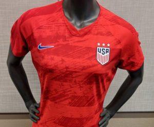 USA 2019 maillot extérieur Etats Unis coupe du monde 2019 féminine