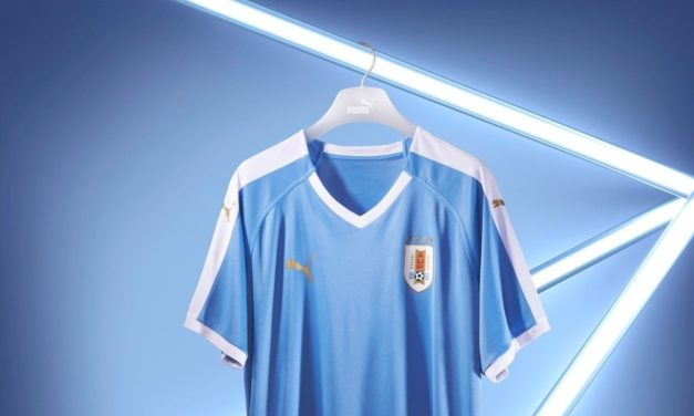 Nouveaux maillots Uruguay 2019 Copa America