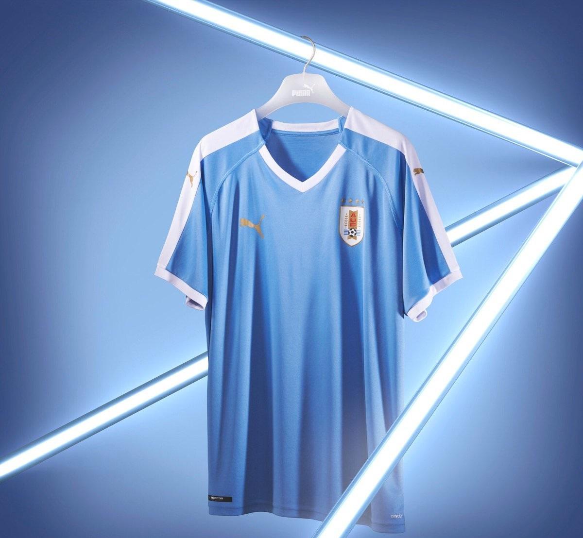 Uruguay 2019 domicile maillot Copa America 2019