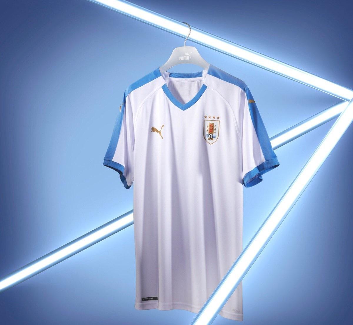 Uruguay 2019 maillot exterieur Copa America 2019