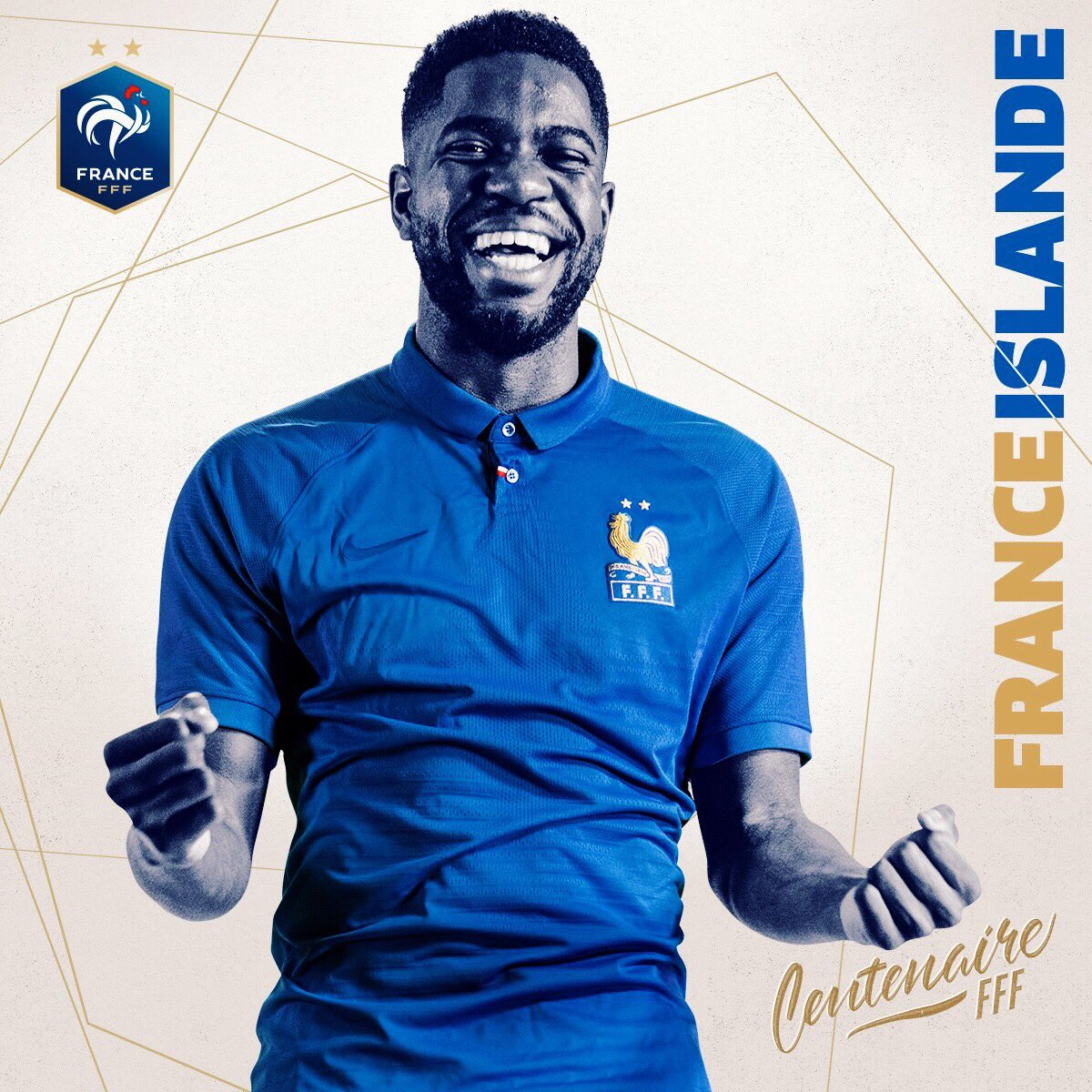 maillot collector France Umtiti