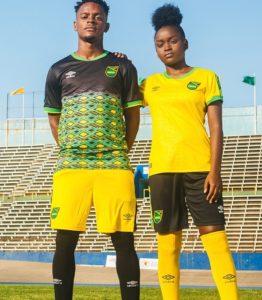 maillots de foot Jamaïque 2019 coupe du monde féminine