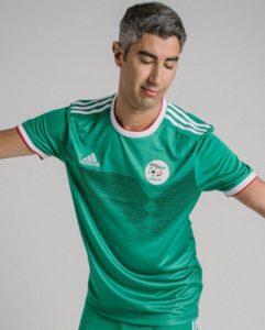 Algérie 2019 maillot extérieur CAN 2019