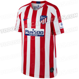 Atletico Madrid 2019 2020 maillot domicile foot