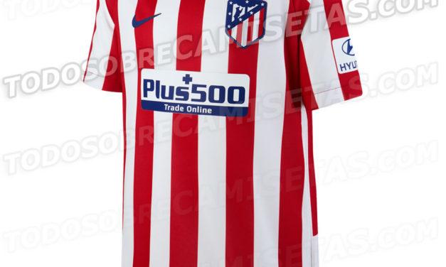 Atletico Madrid 2020 nouveaux maillots de football 19-20 de Nike