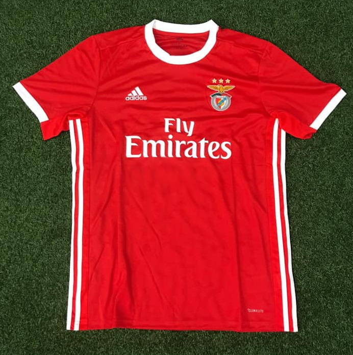 Benfica 2020 maillot domicile foot Adidas
