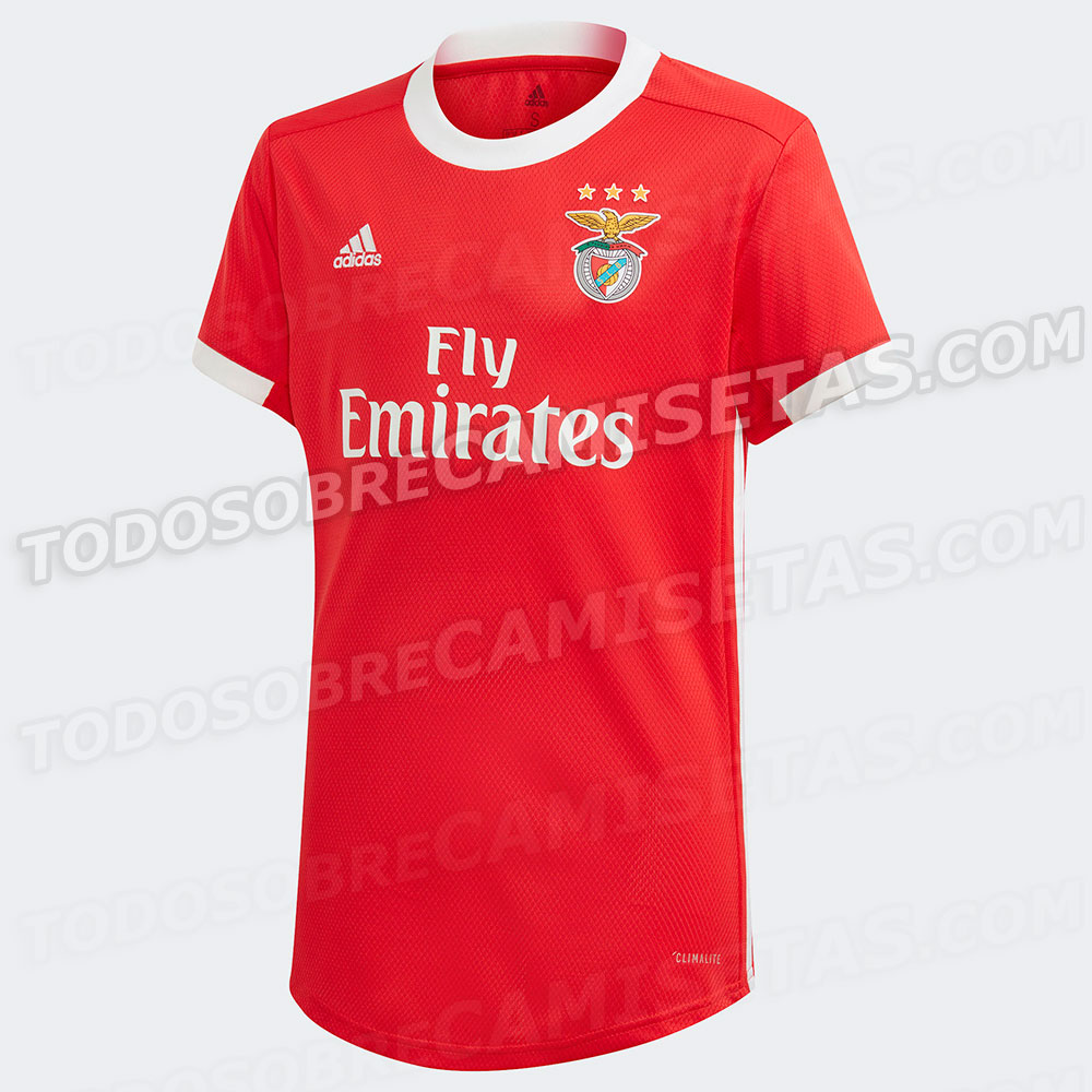 Benfica 2020 maillot domiicle foot