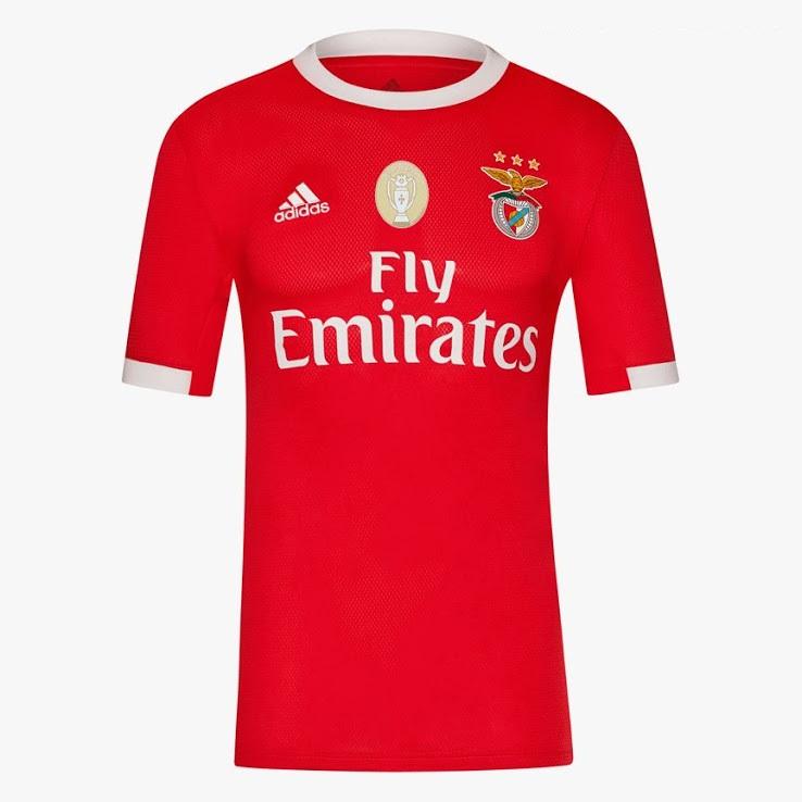Benfica 2020 nouveau maillot foot domicile