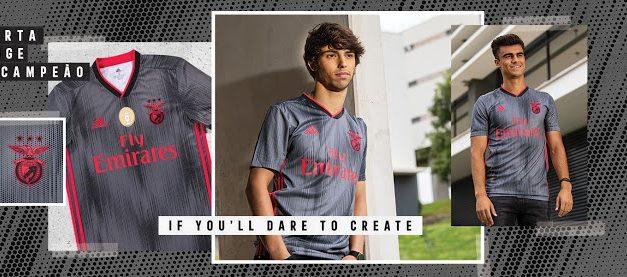 Les nouveaux maillots de foot Benfica 2020 par Adidas