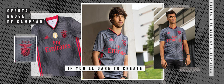 Benfica Lisbonne 2020 maillot exterieur officiel foot