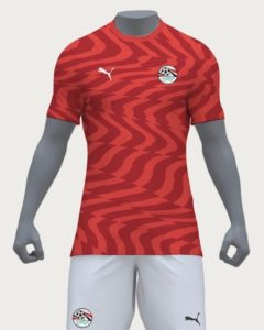 Egypte 2019 maillot domicile CAN 2019