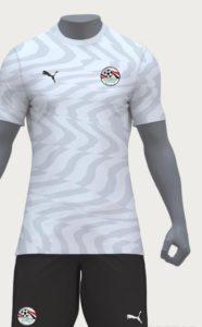 Egypte 2019 maillot extérieur CAN 2019
