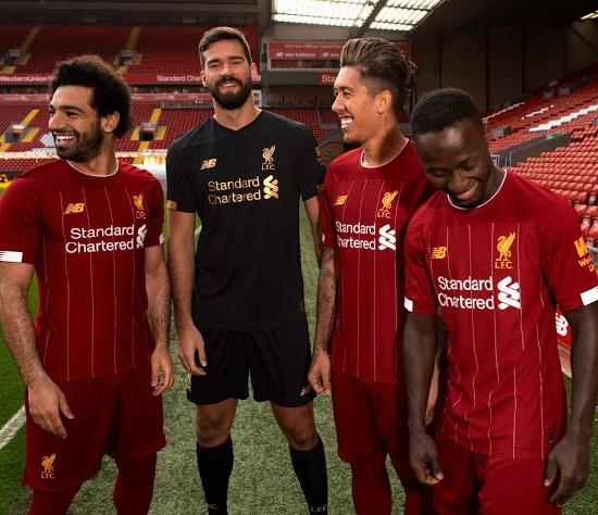 Liverpool 2020 maillot foot officiel